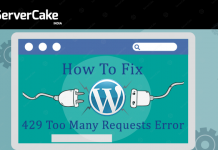 WordPress 429 request error
