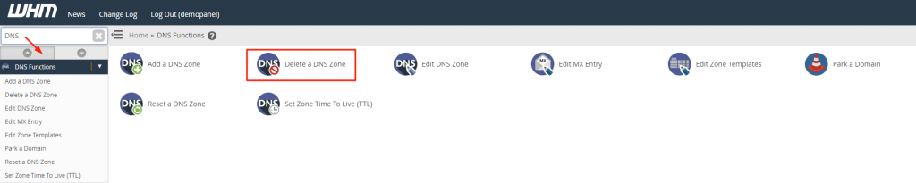 DNS Functions