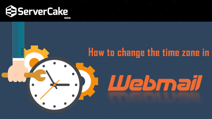 time zone in webmail