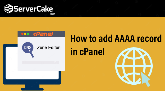 aaaa record in cpanel