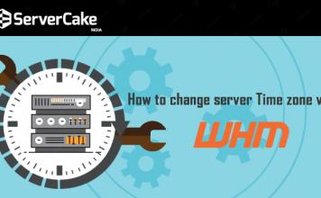 change server Time zone via WHM