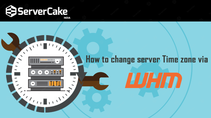change server Time zone via WHM