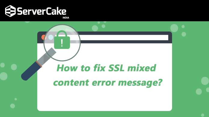 SSL mixed content error