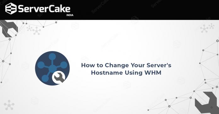 Hostname-using-WHM