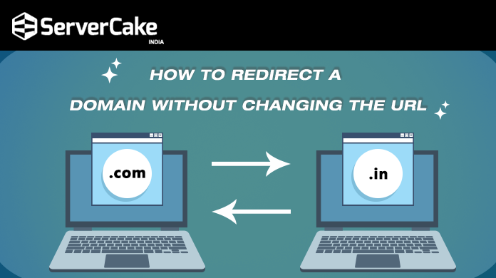 Redirect Domain without changing URL
