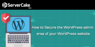 Secure WordPress admin