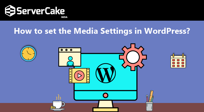 Set media settings in wordpress