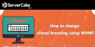 change cPanel branding