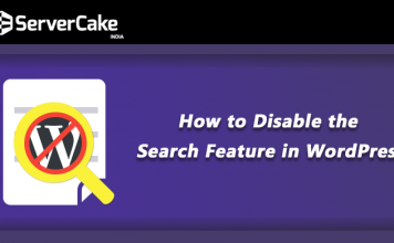 Disable WordPress Search Feature