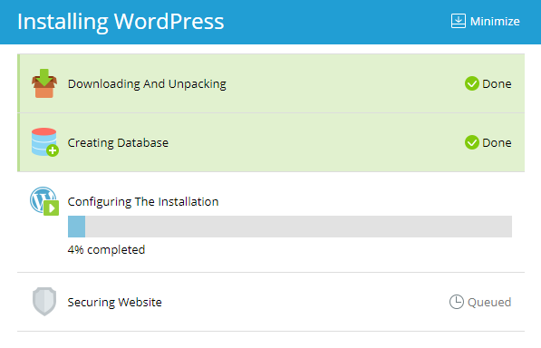 Install wordpress - ServerCake India