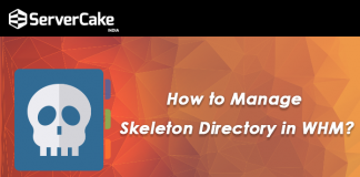 Manage Skeleton Directory in WHM