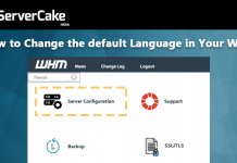 change default language