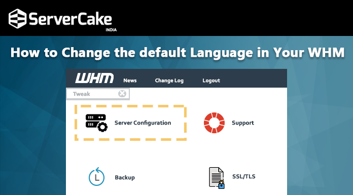 change default language