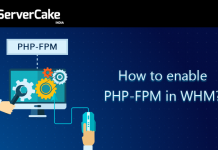 Enable PHP FPM