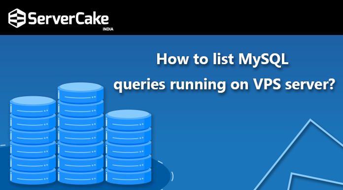 list MySQL queries on VPS