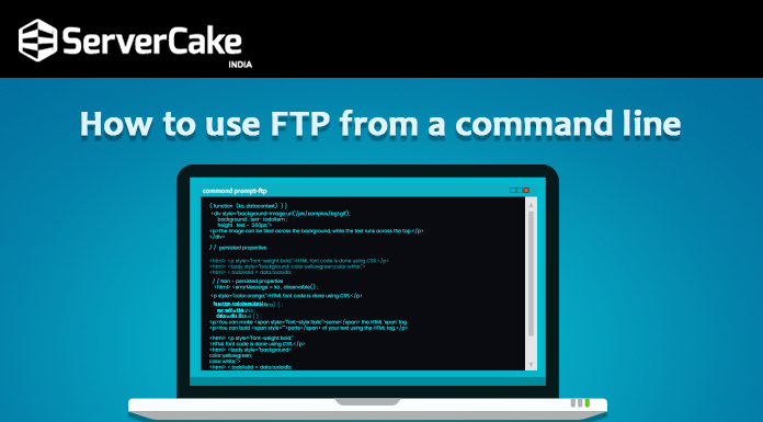 ftp-command line