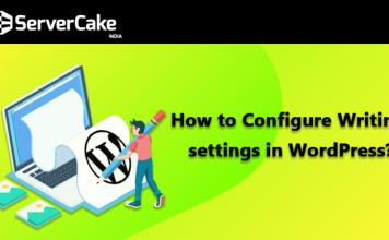 configure writing settings