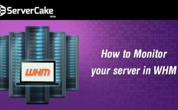 Monitor server WHM