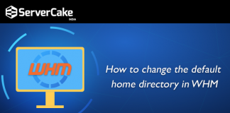 change default home directory