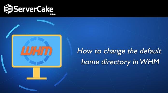 change default home directory