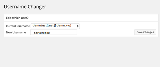 wp-username-changer