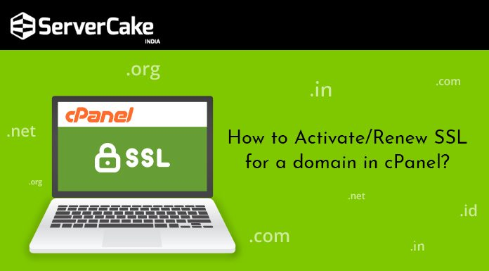 Activate SSL in cPanel